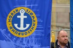 Free Norwegian Seafarers  Union Rally Royalty Free Stock Photos - 61067008