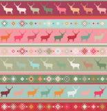 Norwegian seamless pattern. EPS 8 Stock Image
