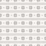 Norwegian seamless pattern. Vector set. Stock Photo