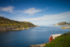 Norwegian seaside Royalty Free Stock Images