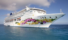 Norwegian Sky Cruiseship Stock Photos