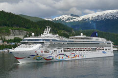 Norwegian Star Royalty Free Stock Photo