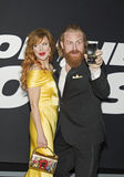 Norwegian Star Power: Gry Molvaer And Kristofer Hivju Stock Photos