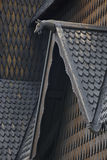 Norwegian stave church detail. Heddal. Historic building. Norway Stock Photo