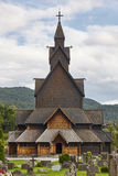 Norwegian stave church. Heddal. Historic building. Norway touris Stock Photography