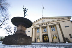 Norwegian Stock Exchange winter Stock Photos