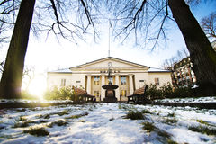Norwegian Stock Exchange winter 2 Stock Photo
