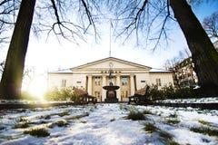 Norwegian Stock Exchange winter 2 stock photo