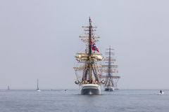 Norwegian Tall Ship Royalty Free Stock Photos