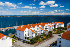 Norwegian traditional architecture Stock Photography