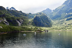 Norwegian Trollfjord Royalty Free Stock Photo