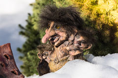 Norwegian Trolls. Royalty Free Stock Photography