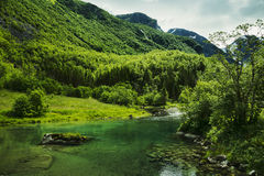 Norwegian valley Royalty Free Stock Photography