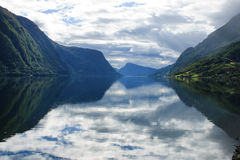 Norwegian View Royalty Free Stock Photo
