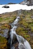 Norwegian waterfall Stock Photography