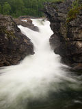 Norwegian waterfall Royalty Free Stock Image