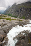 Norwegian waterfall Stock Image