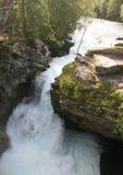 Norwegian waterfall Royalty Free Stock Photo