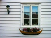 Norwegian window Royalty Free Stock Images