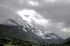 Norwegische Berge Lizenzfreies Stockfoto