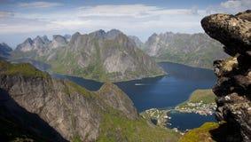 Norwegische Fjorde - Lofoten Lizenzfreie Stockfotografie
