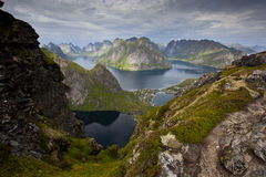Norwegische Fjorde - Lofoten Lizenzfreies Stockfoto