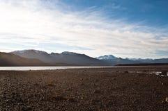 Norwegische Fjordlandschaft Stockbild