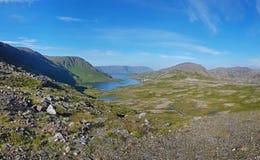 Norwegische Insel Mageroya stockfotografie
