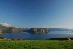 Norwegische Küste Stockfoto