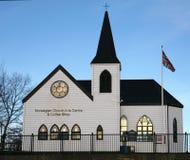Norwegische Kirche Stockfotos