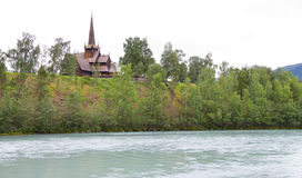 Norwegische Kirche Lizenzfreie Stockfotografie