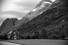 Norwegische Kirche Stockfotografie