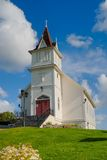 Norwegische Kirche lizenzfreie stockbilder