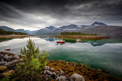 Norwegische Landschaft Lizenzfreie Stockbilder