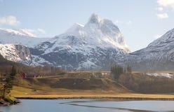 Norwegische Landschaft Stockfotos