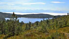 Norwegische Landschaft Lizenzfreie Stockfotografie