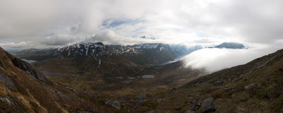 Norwegische Natur Stockbild