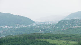 Norwegische Stadt Bergen stock video