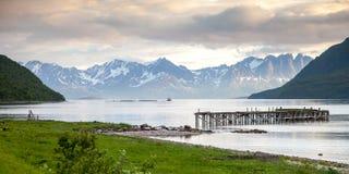 Norwegischer Fjord Stockbild