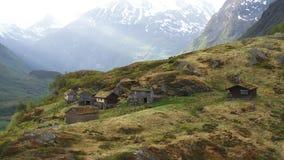 Norwegischer Fjord Geiranger stock video footage