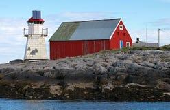 Norwegischer Leuchtturm lizenzfreie stockbilder