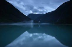 Norwegischer See Stockbild