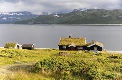 Norwegischer Sommer Lizenzfreies Stockfoto