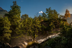 Norwegischer Wasserfall Lizenzfreie Stockfotografie