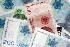 Norwegisches Bargeld Lizenzfreie Stockfotografie