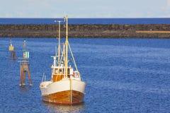 Norwegisches Fischerboot lizenzfreie stockfotografie