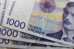 Norwegisches Geld Stockfotos