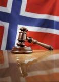 Norwegisches Gesetz Stockfotografie