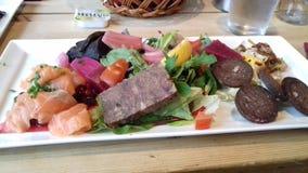 Norwegisches Lebensmittel Stockbilder