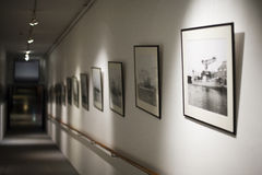 Norwegisches Seemuseum Stockfoto